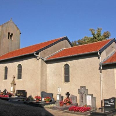 Eglise et cimetière